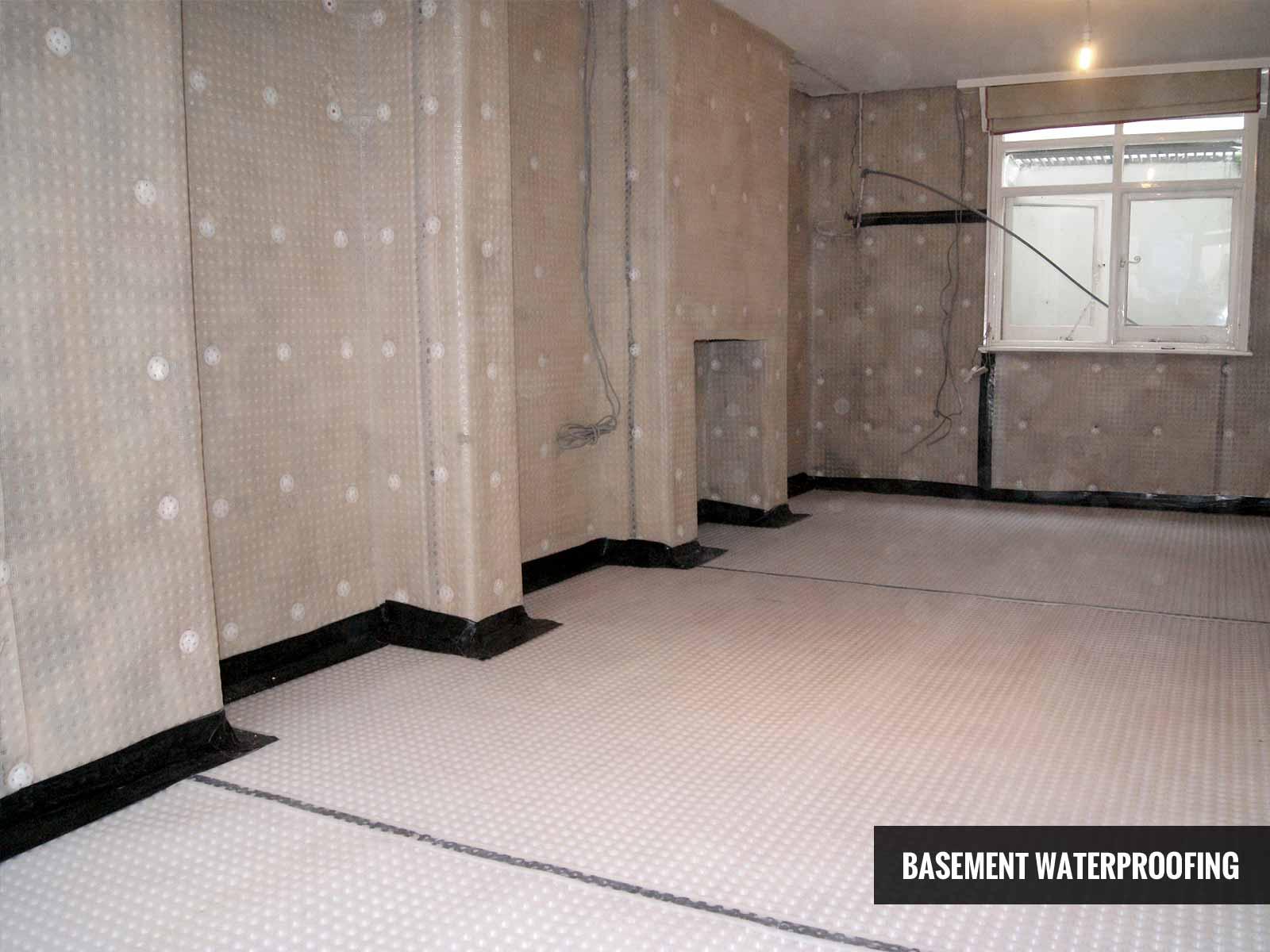 Basement Waterproofing (Tanking) in Dorset, Hampshire, Wiltshire & Devon